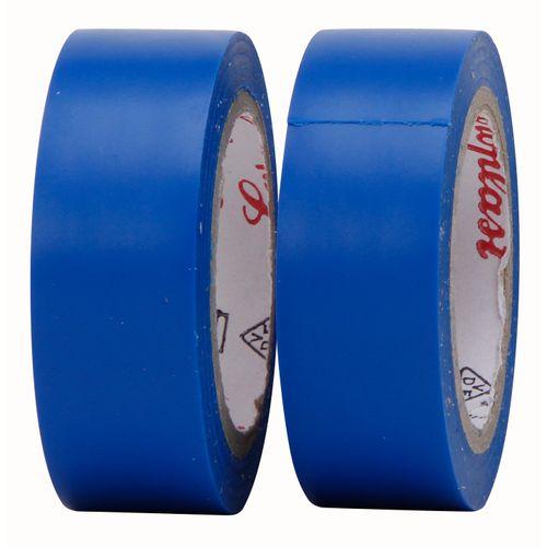 Isolatieband 4,5 mtr blauw 2 rollen