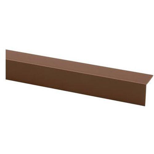 Moulure d'angle JéWé PVC brun 35x35mmx260cm