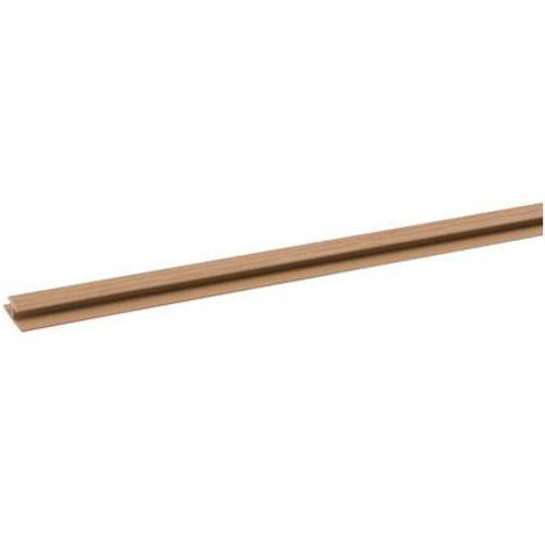 Profilé JéWé PVC brun 2 cm