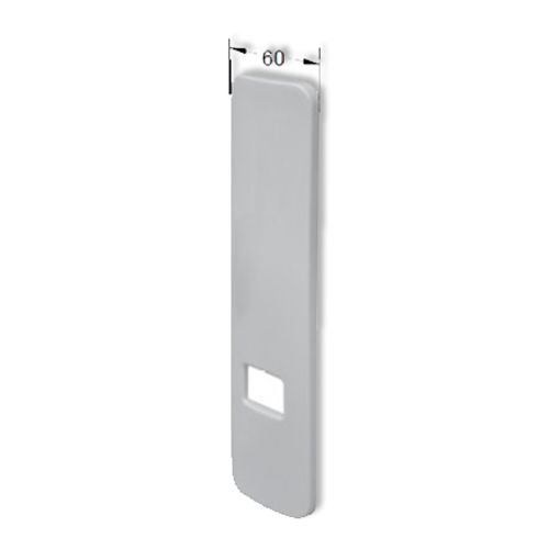 Packline afdekplaat voor lintoproller inbouw PVC wit - 2 stuks