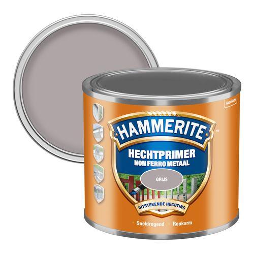 Hammerite grondverf Metalen Hechtprimer grijs 500ml