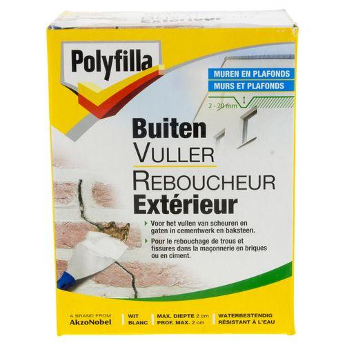 Enduit extérieur Polyfilla 1 kg