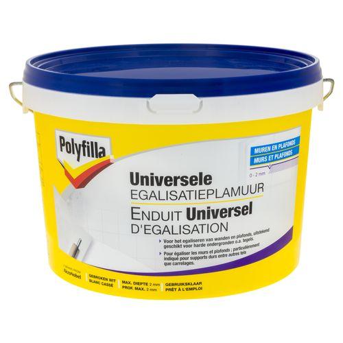 Enduit universel d'egalisation Polyfilla 4 kg