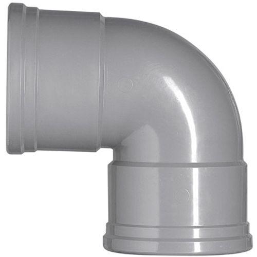 Martens PVC bocht 110mm 2xmm 87gr grijs