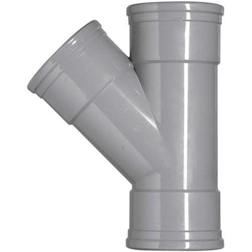 Martens PVC t-stuk 110x110mm 3xmm 45gr grijs