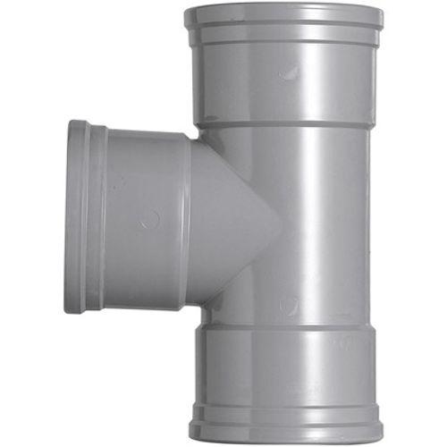 Martens PVC t-stuk 110x110mm 3xmm 87gr grijs