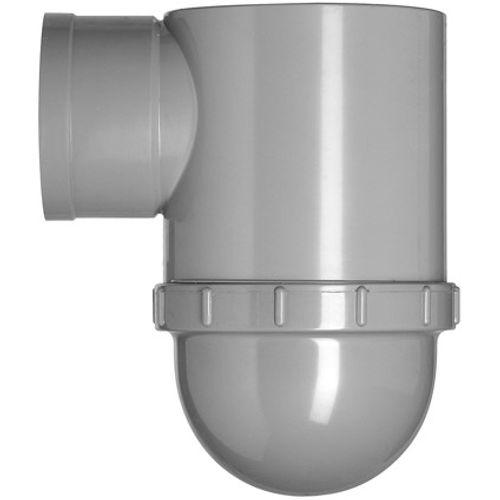 Martens putsifon met ontstoppingsdeksel grijs 110 mm