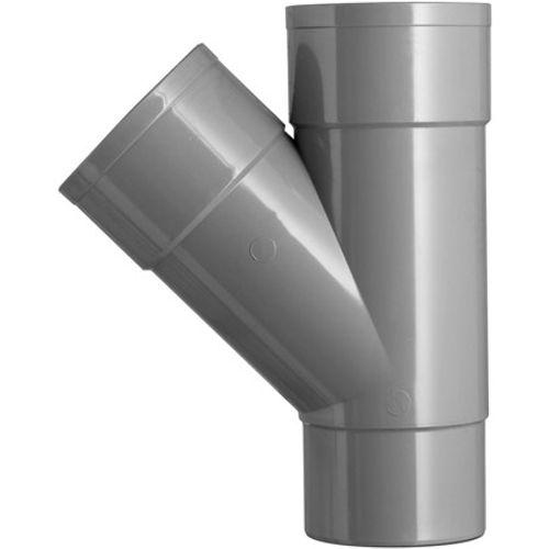 Martens HWA t-stuk  60x60mm 1xlm 45gr grijs