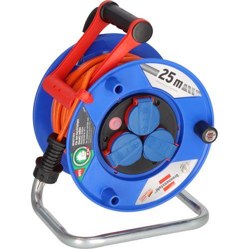 Brennenstuhl kabelhaspel garant IP44 25m AT-N07V3V3-F 3G1,5 oranje