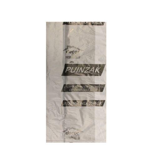 Sac pour gravats Decor 50 x 75 cm  - 30 pcs