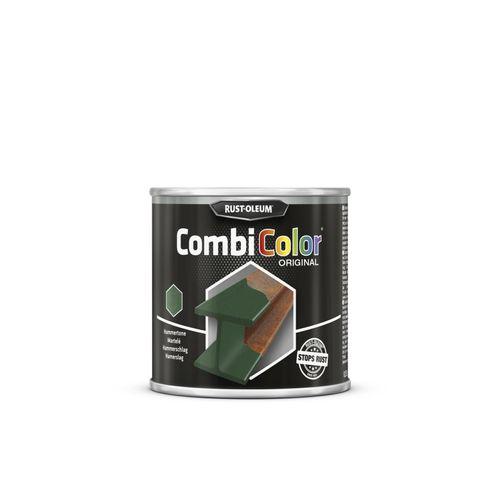 Rust-Oleum CombiColor Original grondlaag en metaallak donker groen hamerslag 250ml