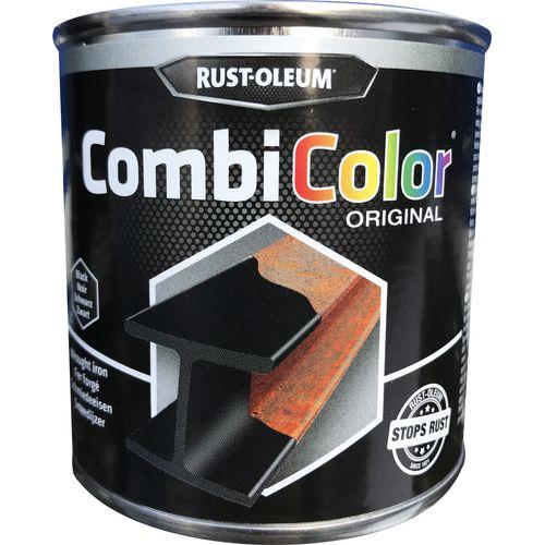 Rust-Oleum CombiColor Original grondlaag en metaallak smeedijzer zwart 250ml