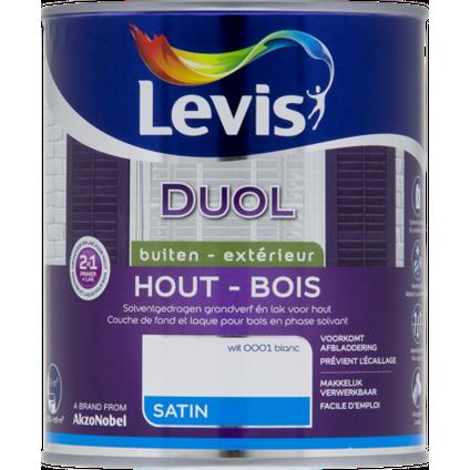 Levis lak Duol wit satijn 750ml