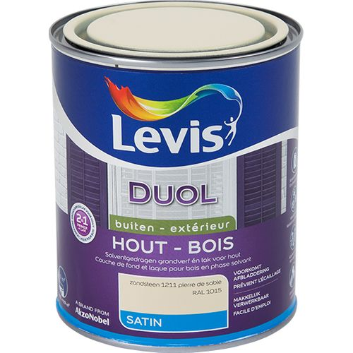 Laque Levis Duol pierre de sable satin 750ml