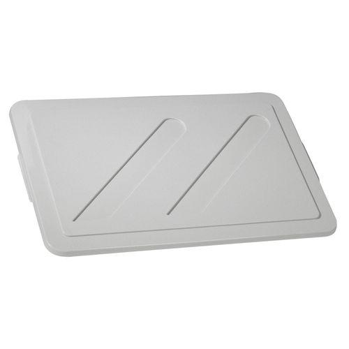 Keter deksel Crownest PVC lichtgrijs 50L