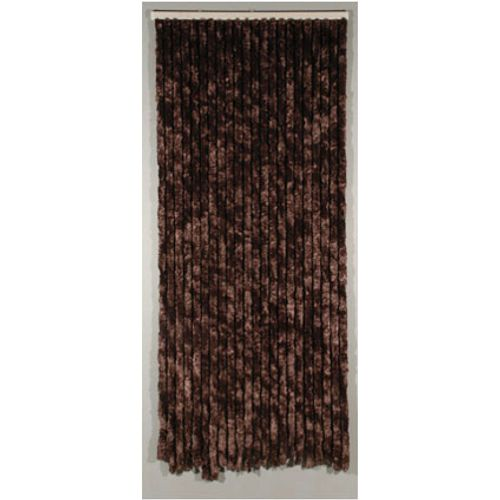 Rideau-portière 'Castor' brun 2,05 x 0,9 m