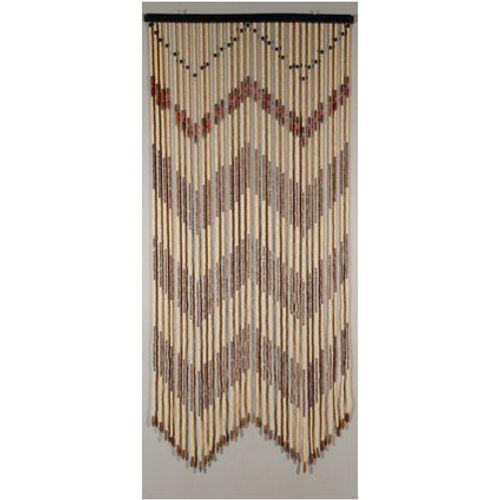 Rideau-portière 'Jamaïque' brun 2 x 0,9 m