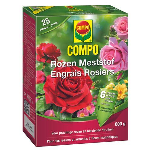 Engrais roses Compo 800g