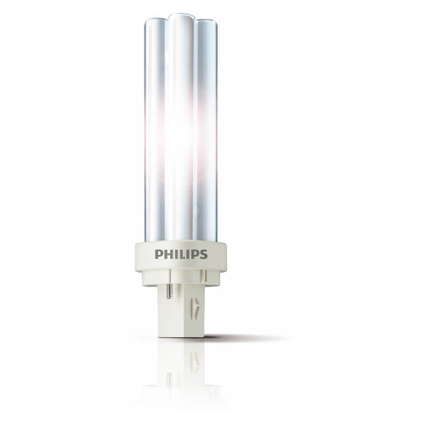 Philips spaarlamp PL-C 2-pins Master neutraal wit 830 13W