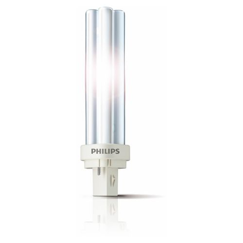 Philips Compact fluorescente spaarlamp PLC 18W 2 pins