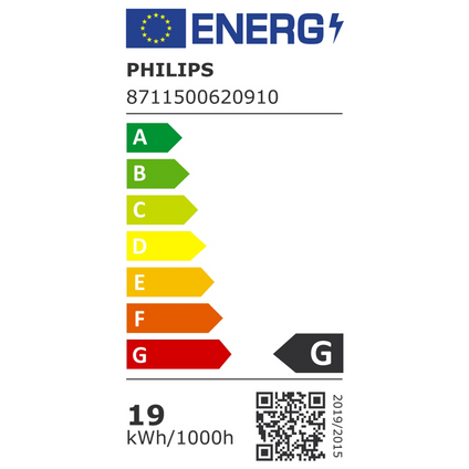 Philips spaarlamp PL-C 2-pins Master neutraal wit 830 18W