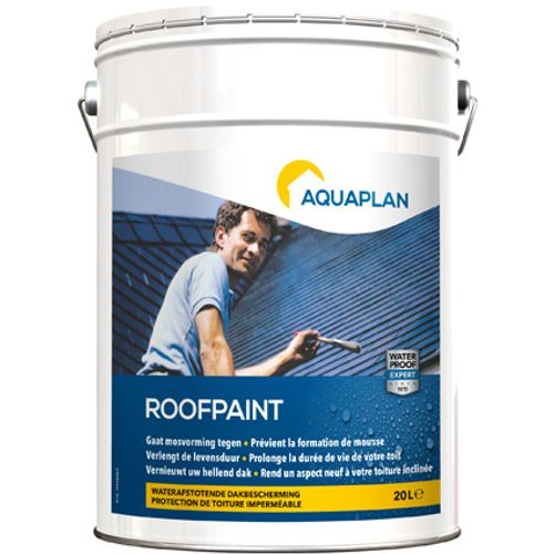 "Aquaplan ""Roofpaint"" antraciet 20 L"