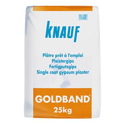 Plâtre prêt à l'emploi Knauf 'Goldband' 25 kg