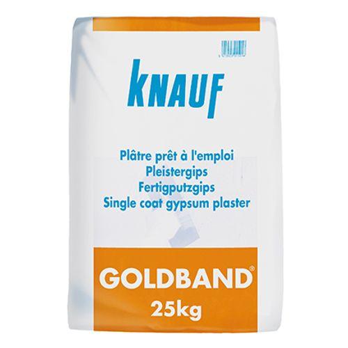 Knauf gebruiksklaar pleistergips 'Goldband' 25 kg