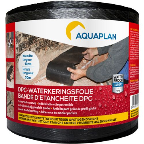 Aquaplan waterkeringsfolie DPC 10 cm x 30 m