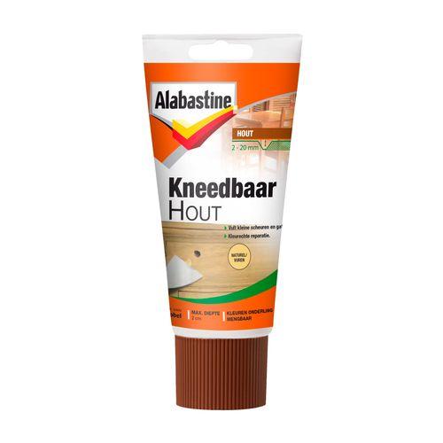 Alabastine kneedbaar hout naturel 200gr