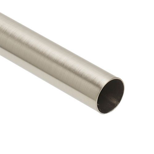 Barre de rideau DecoMode Inox 240cm 20mm