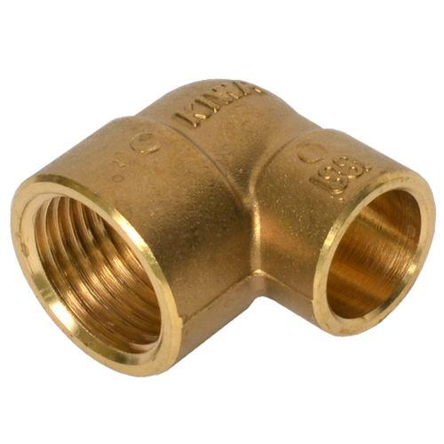 Coude à raccord filet ou compression Sanivesk laiton 1/2 F x 15 mm