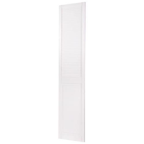 CanDo louvredeur dicht met paneel 198 x 39.4cm