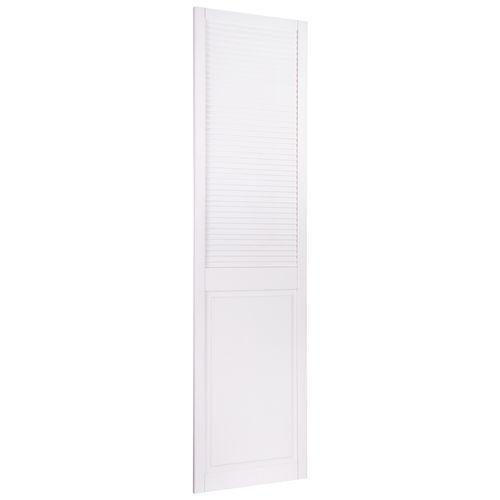 CanDo louvredeur dicht met paneel 198 x 49,4cm