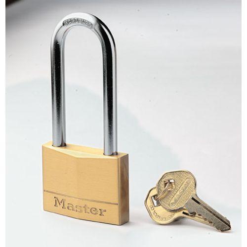 Master Lock hangslot massief messing 50mm
