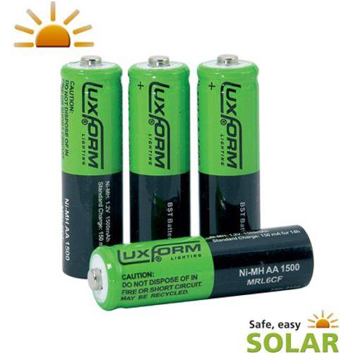 Pile rechargeable Luxform 'AA - LR6' 1,2 V - 4 pcs