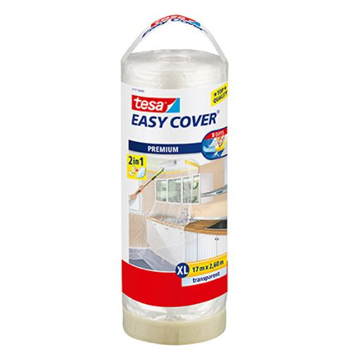 "Bâche de protection autocollant Tesa ""Easy Cover XL"" 17mx260cm"