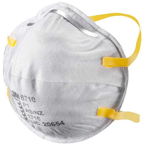 3M fijnstofmasker Protect cupvorm FFP1