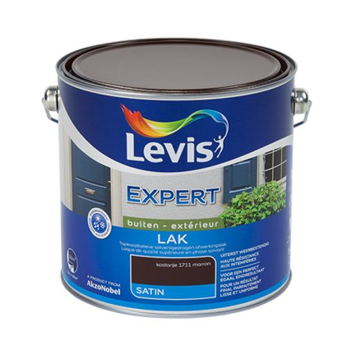 Laque Levis Expert marron satin 2,5L