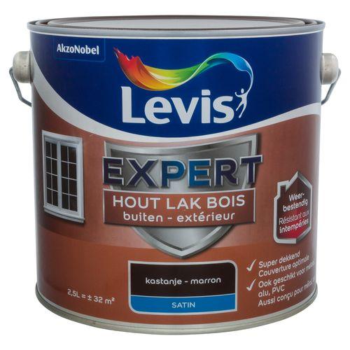 Laque Levis Expert marron satin 2,5L