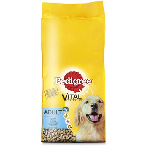 Pedigree Vital adult lam 15 kg