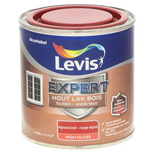 Laque Levis Expert rouge signal brillant 250ml
