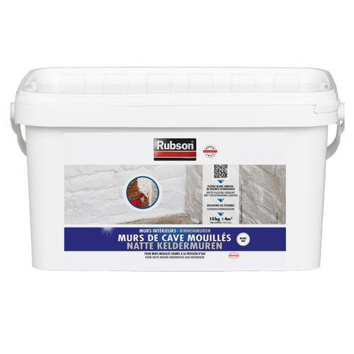 Rubson beschermingsproduct vochtige keldermuren grijs 10kg