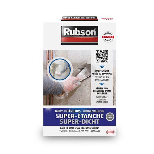 Rubson waterdichte reparatiemortel Super-Dicht grijs 1kg