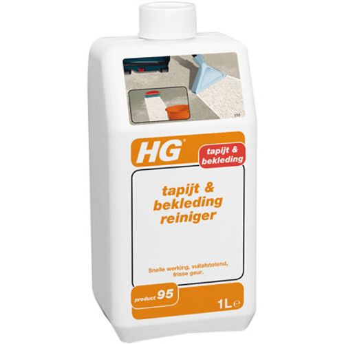 HG tapijt- & en bekledingsreiniger 1L