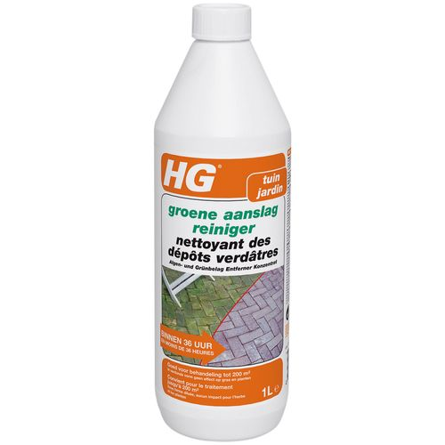 Nettoyant des dépôts verdâtres HG 'Jardin' 1 L