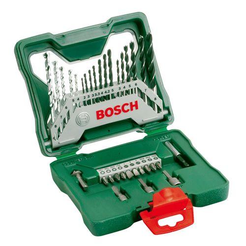 Bosch boor- en bitset X-line 33-delig