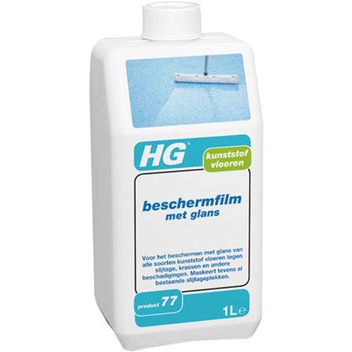 HG kunststof vloeren beschermfilm met glans 1L