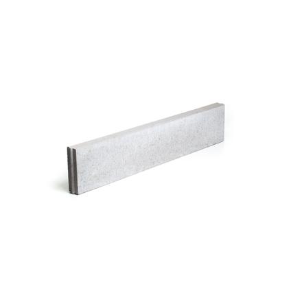 Coeck rechte boordsteen beton grijs 100 x 20 x 6 cm