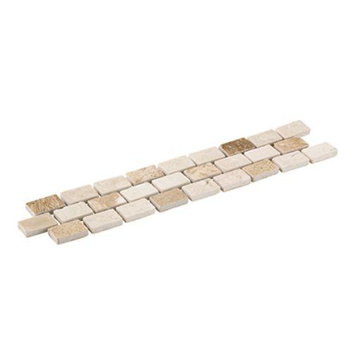 Listello Brick travertin 5x23,5cm